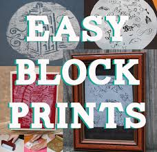 easy lino block prints for kids using styrofoam 8 steps with