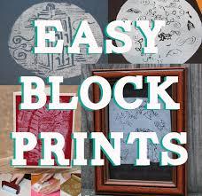 easy lino block prints for kids using styrofoam 8 steps with