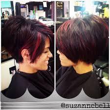 short pixie stacked haircuts 823 besten hair ideas bilder auf pinterest frisuren kurze haare