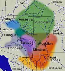 Map Of Northern Arizona by Verde Valley Archaeology Center Early Inhabitants