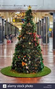 christmas tree in soekarno hatta international airport interior