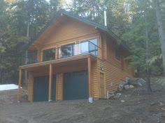 hillside cabin plans plan 24114bg vacation cottage with drive garage cabin