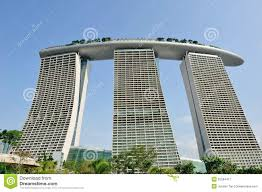Free Architectural Design by Architectural Design Of Marina Bay Sands Singapore Royalty Free