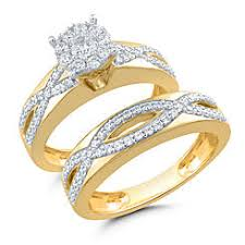 yellow gold bridal sets bridal sets yellow gold sears
