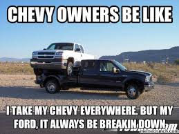 Ford Memes - vs chevy