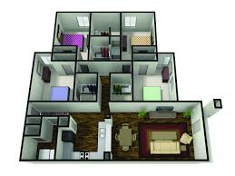 four bedroom 2 4 bed apartments the