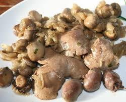 comment cuisiner des foies de lapin fricassée de foie et rognons de lapin amafacon
