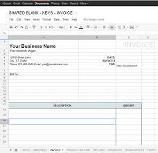 google docs invoice template free invoice template for google docs