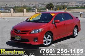 toyota credit bank sold 2013 toyota corolla s in barstow
