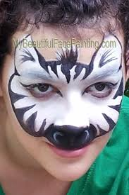 halloween face paint kids black background best 10 zebra face ideas on pinterest zebra face paint