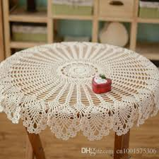 Cover Coffee Table Crochet Pattern Table Cover Handmade Coffee Table Cover