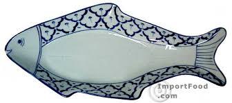 ceramic fish platter importfood