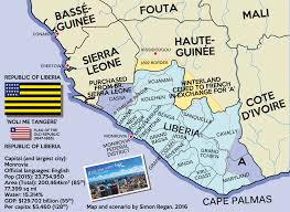 Liberia Map And Mighty Be Her Powers U0027 An Alternate Liberia By Sregan On