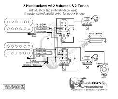 hbs 3 way toggle 2 vol 2 tones coil tap u0026 series parallel