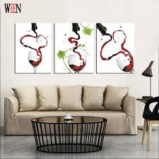 kitchen modern art compare prices on painting kitchen red online shopping buy low
