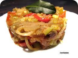cuisiner une ratatouille ratatouille cuisson séparée 2 en cuisine