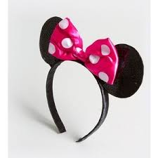 claires headbands sequin minnie mouse ears headband s polyvore