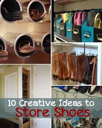 10 creative ideas to store shoes diyandcraft tv