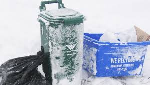 city of kitchener garbage collection some waste collection delays in waterloo region 570 news