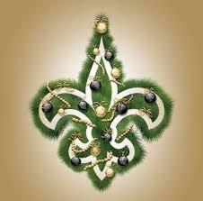new orleans saints christmas tree part 31 thanksgiving tree new