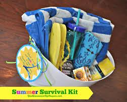summer gift basket gifts suche cadeau de fin d ée