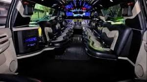 limousine hummer inside cadillac escalade limo inside 2 youtube