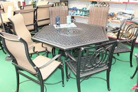 Hexagon Patio Table 61 Hexagon Cast Dining 39965 Green Lea South Jersey Patio