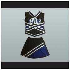 cheerleading uniforms halloween 80 one tree hill ravens cheerleader uniform stitch sewn room