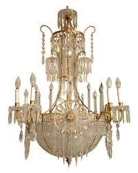 Bronze And Crystal Chandeliers Antique Russian Bronze Crystal 6 Arm Chandelier Lighting Ideas