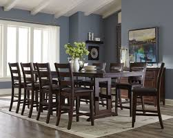 Coaster Dining Room Sets Holbrook Antique Tobacco Extendable Counter Height Dining Table