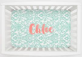 mini crib sheets fitted porta crib sheet sets carousel designs
