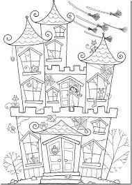 teaching english halloween colouring pages
