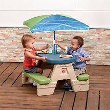 Indoor Picnic Table Kids Picnic Table Umbrella Toddler Play Room Indoor Outdoor Bench