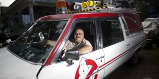 who you gonna call duo creates replica of u0027ghostbusters u0027 car