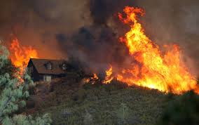 Wildfire Areas by Wildfires In California Spur Emergency Declaration 1 Firefighter