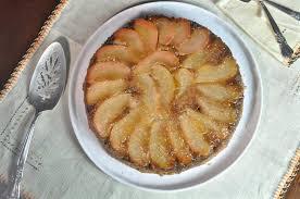 upside down pear walnut cake ciao chow linda