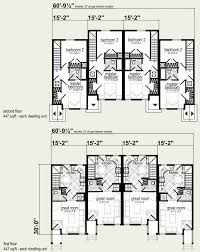 Multi Family Homes Floor Plans Modular Homes Multi Family Taft 4 Plex