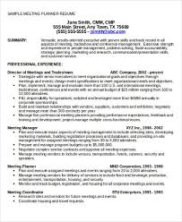 Event Planning Resume Samples by Event Planning Resumes Template Billybullock Us