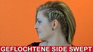 Frisuren Abend Anleitung by Seitliche Französische Zopf Mittellange Lange Haare Mega