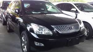 lexus harrier 2013 toyota harrier 2 4 premium l unreg 2012 black youtube