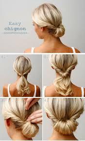 easy hairstyles for waitress s beautiful elegant relaxed wedding chignon hairrr pinterest
