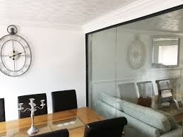 from glass at work residential glass partition wall for mr and