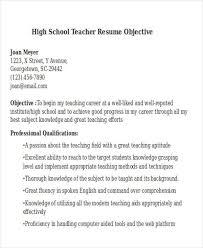 Dance Instructor Resume Sample by Teachers Resume Objective Preschool Teacher Resume Objective
