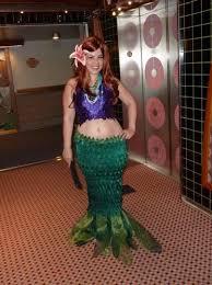 Mermaid Halloween Costume Adults Cartoon Mermaid Halloween Costume Occasions
