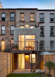Modern Row House by 12 Foot Wide House Barker Freeman
