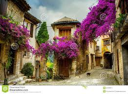 Beautiful Art Pictures by Art Beautiful Old Town Of Provence Royalty Free Stock Photography