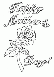 mother coloring pages card for mother u0027s day coloring page for kids coloring pages