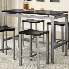 Metal Frame Dining Chairs Kitchen Table Better Known Metal Kitchen Table Heavenly