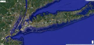 Light Pollution Map Usa by Interactive Sea Level Rise Ocean Pinterest Flood Map
