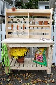 Backyard Bench Ideas by 25 Best Potting Bench Plans Ideas On Pinterest Potting Station